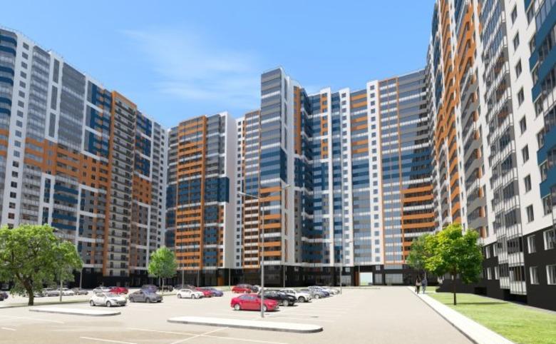 2-комнатная квартира (евро), 43.15 м², 20 этаж – 13