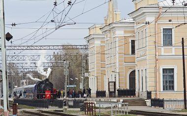 Ж/д станция Ораниенбаум