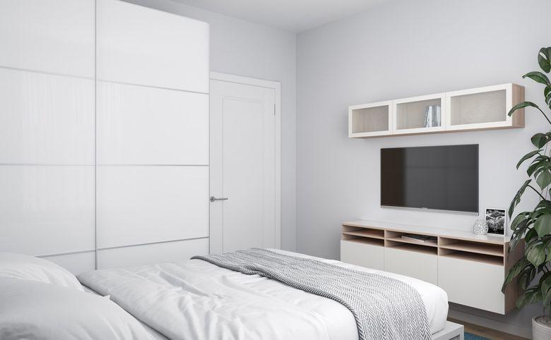 3Е-комнатная квартира, 53.45 м², 12 этаж – 2