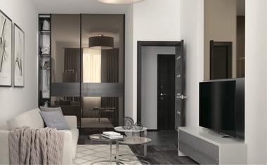 2Е-комнатная, 39.3 м²– 3