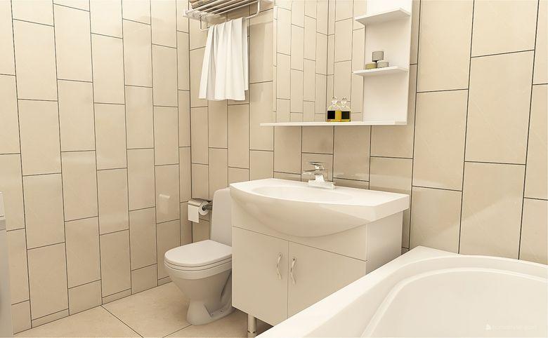 1-комнатная квартира, 33.77 м², 8 этаж – 7