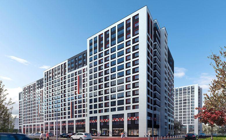 2Е-комнатная квартира, 36.46 м², 2 этаж – 15