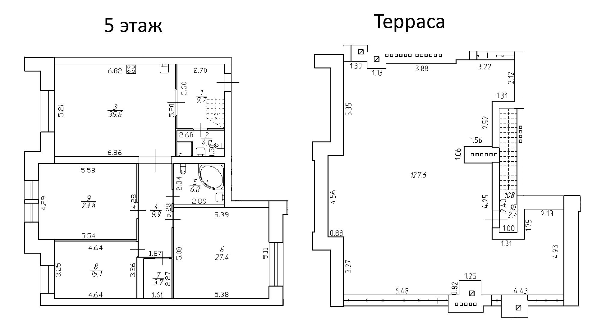 4-к.кв (евро), 266.07 м²