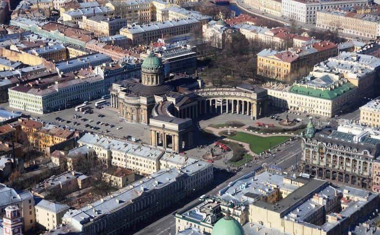 Жилой комплекс в историческом центре города