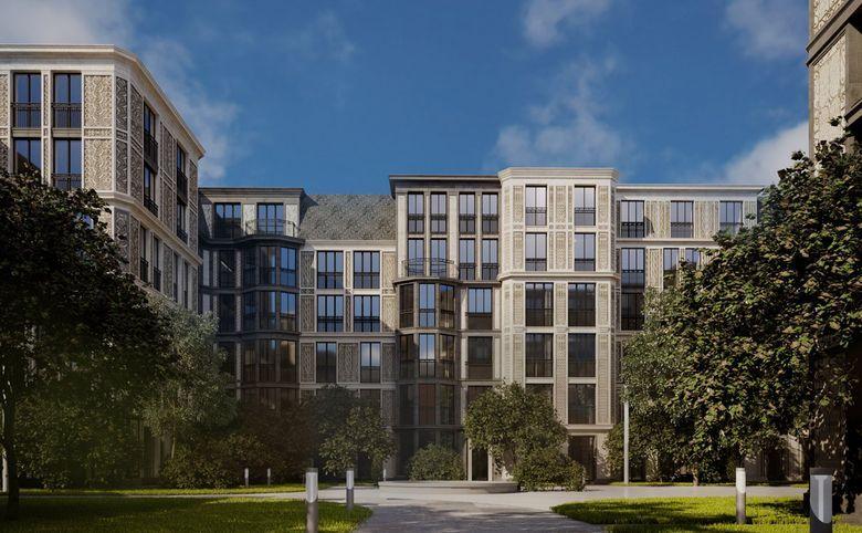 3Е-комнатная квартира, 87.82 м², 2 этаж – 8