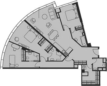 Своб. план., 115.43 м²