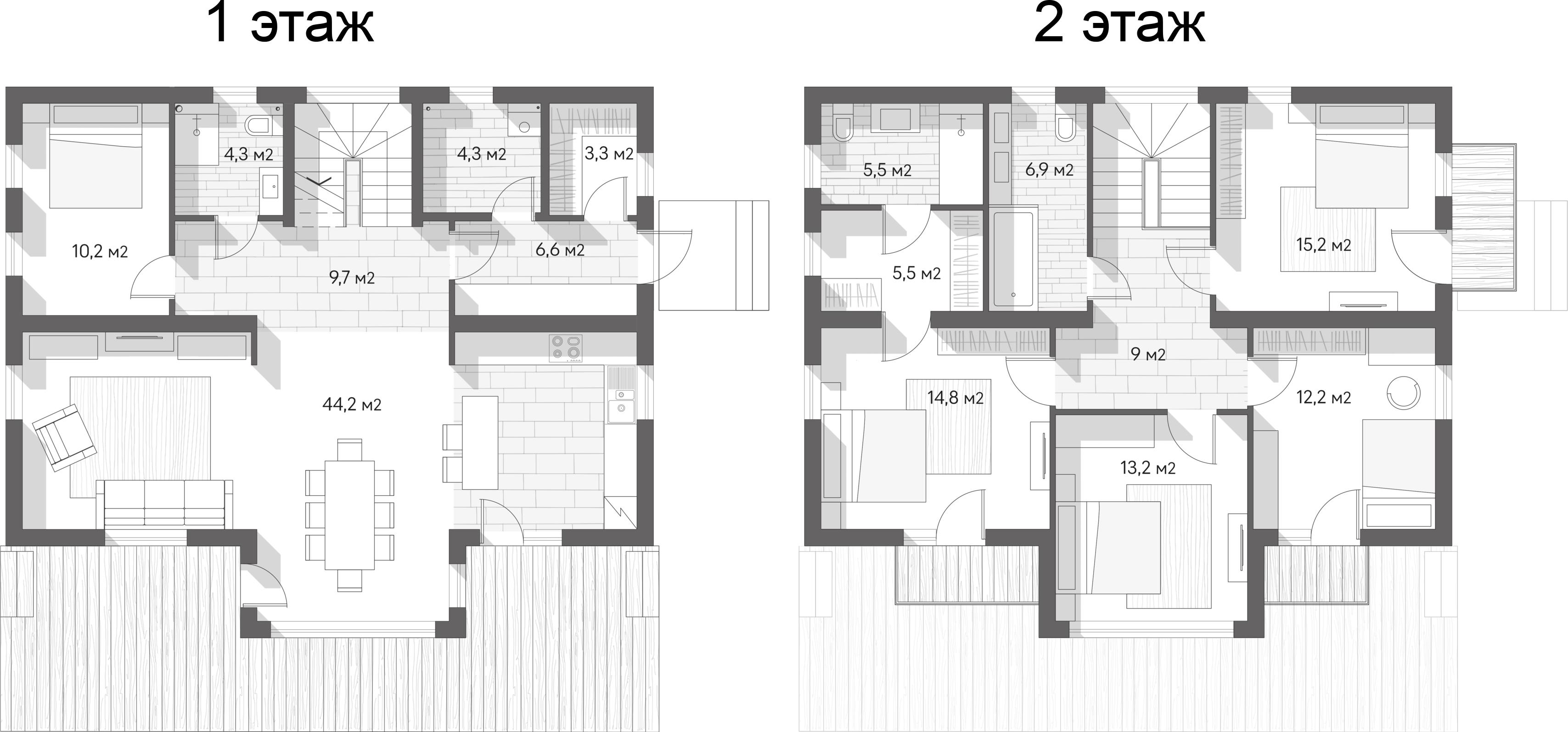 Коттедж, 164.9 м²– 2