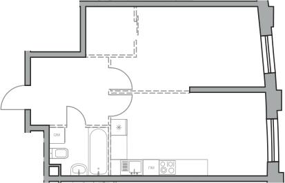 Своб. план., 48.54 м²