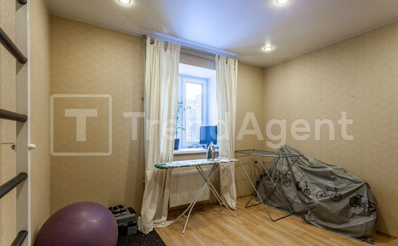 3-комнатная квартира, 71.3 м², 1 этаж – 5