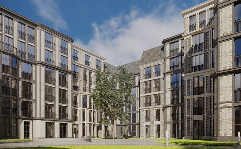 3Е-комнатная квартира, 87.82 м², 2 этаж – 7