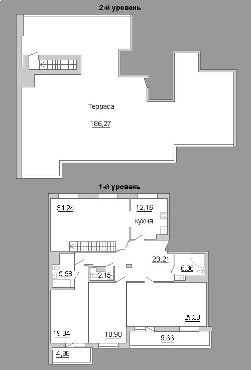 3-к.кв, 386.33 м²