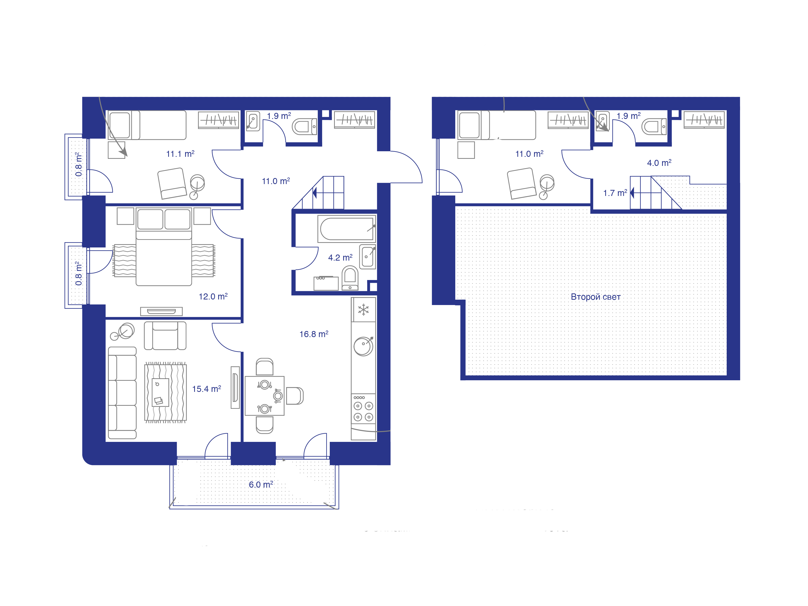 5Е-к.кв, 91 м²