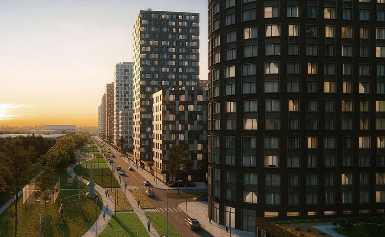 2Е-комнатная квартира, 49 м², 15 этаж – 6