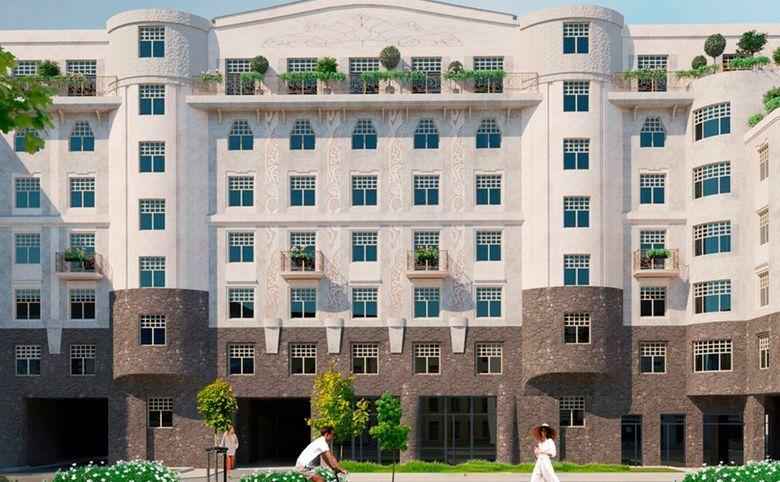 5-комнатная квартира (евро), 136.46 м², 2 этаж – 1