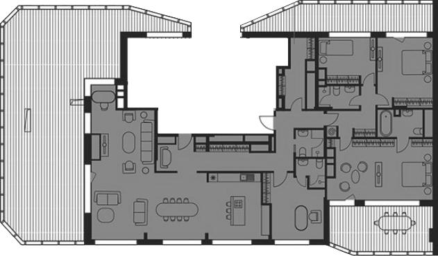 Своб. план., 245.15 м²