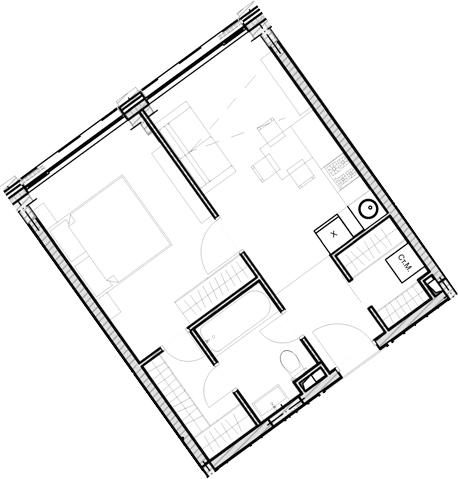 Свободная планировка, 39.13 м²– 2