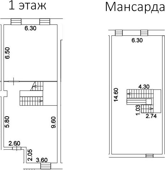 Свободная планировка, 173.7 м²– 2