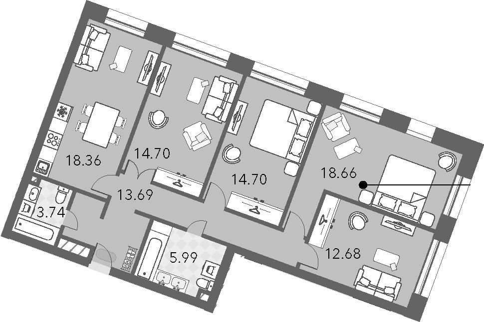 5Е-к.кв, 102.52 м²