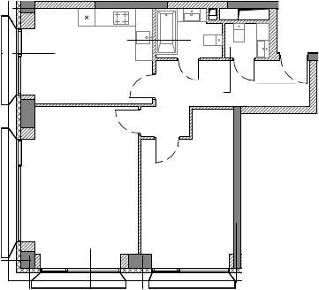 2-к.кв, 68.07 м²