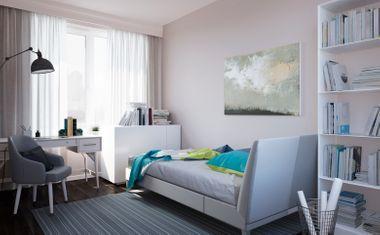 2Е-комнатная, 39.66 м²– 4