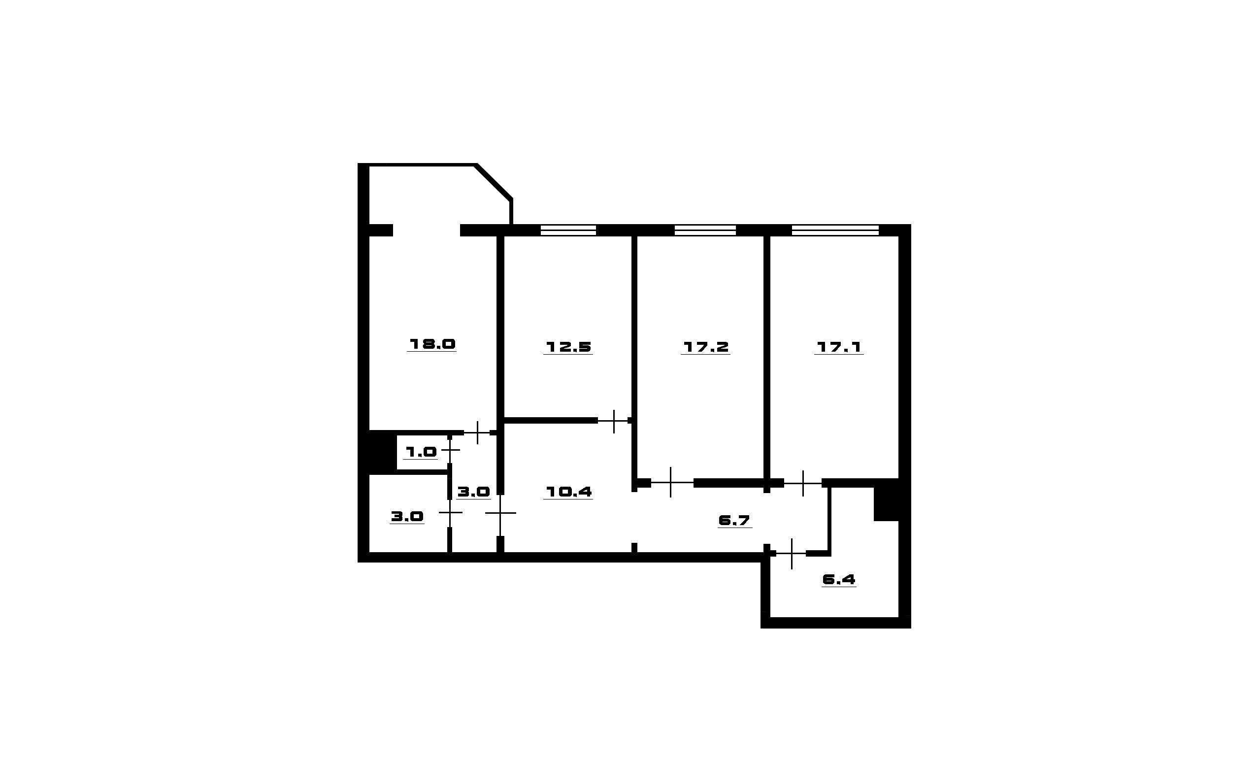 4Е-к.кв, 96.8 м²