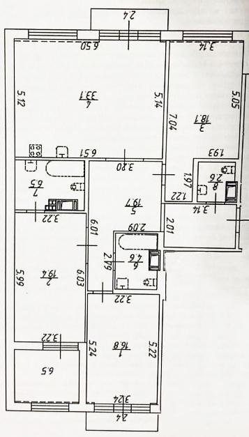 4-к.кв (евро), 132.01 м²