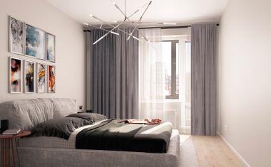 2Е-комнатная, 49.02 м²– 3