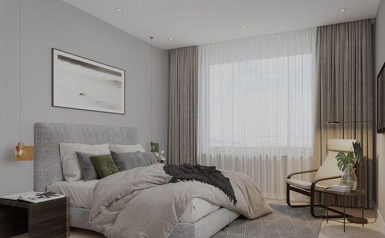3-комнатная квартира, 79.14 м², 7 этаж – 2