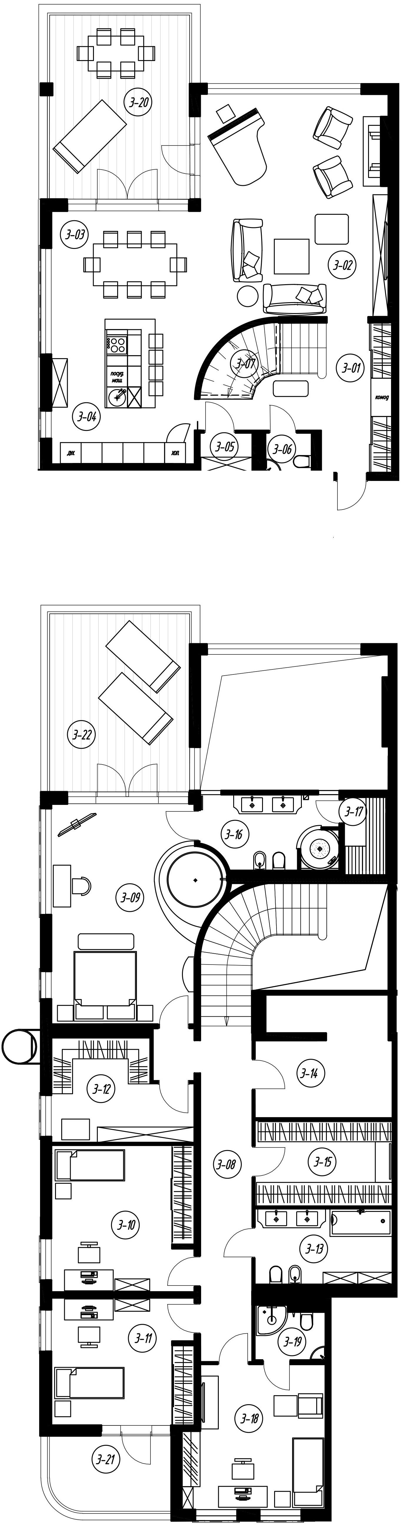 6-комнатная, 285.44 м²– 2