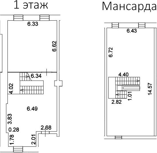 Свободная планировка, 177.2 м²– 2