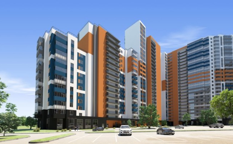 2-комнатная квартира (евро), 43.15 м², 20 этаж – 11