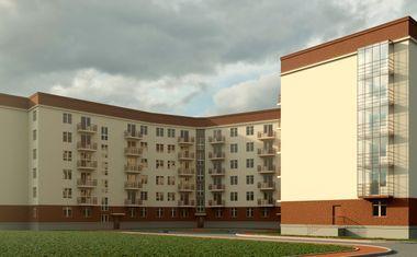 2Е-комнатная, 42.33 м²– 3