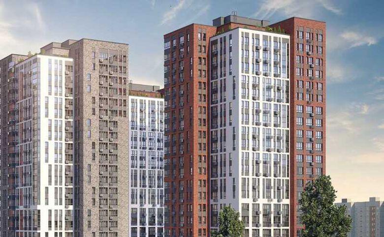 4Е-комнатная квартира, 67 м², 22 этаж – 3