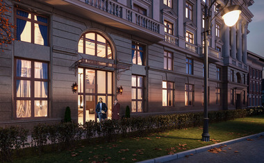 2Е-комнатная, 91.17 м²– 1