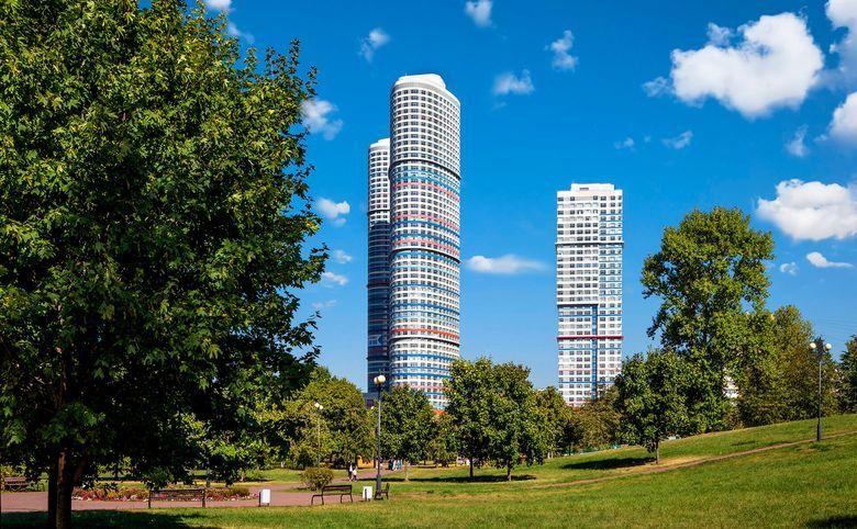 Свободная планировка, 109 м², 26 этаж – 3