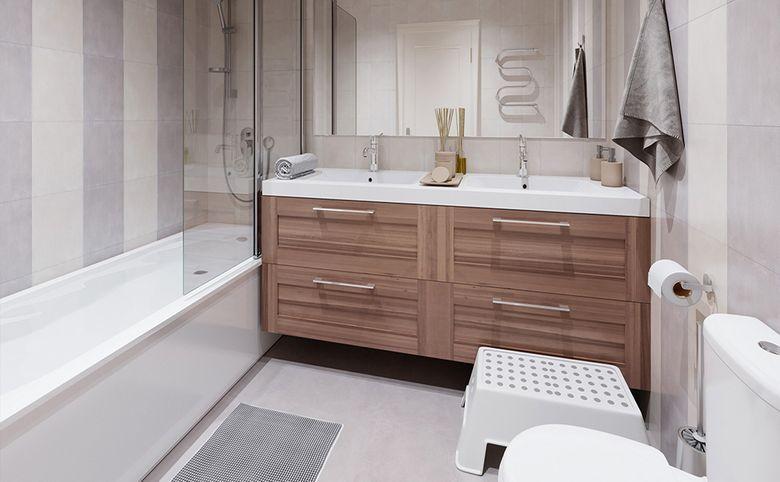 3Е-комнатная квартира, 57.7 м², 6 этаж – 7