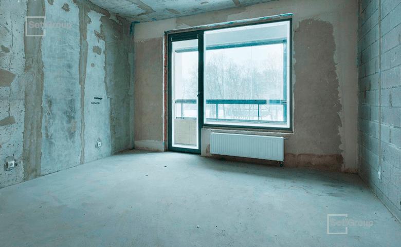 3-комнатная квартира, 80.4 м², 8 этаж – 1