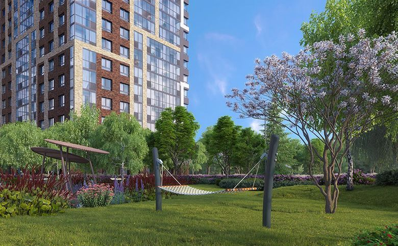 Дизайнерский ландшафт двора от бюро ARTEZA