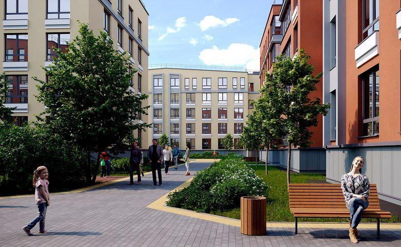 2Е-комнатная квартира, 32.2 м², 1 этаж – 4