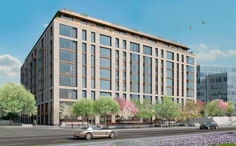 4Е-комнатная квартира, 141.7 м², 2 этаж – 2