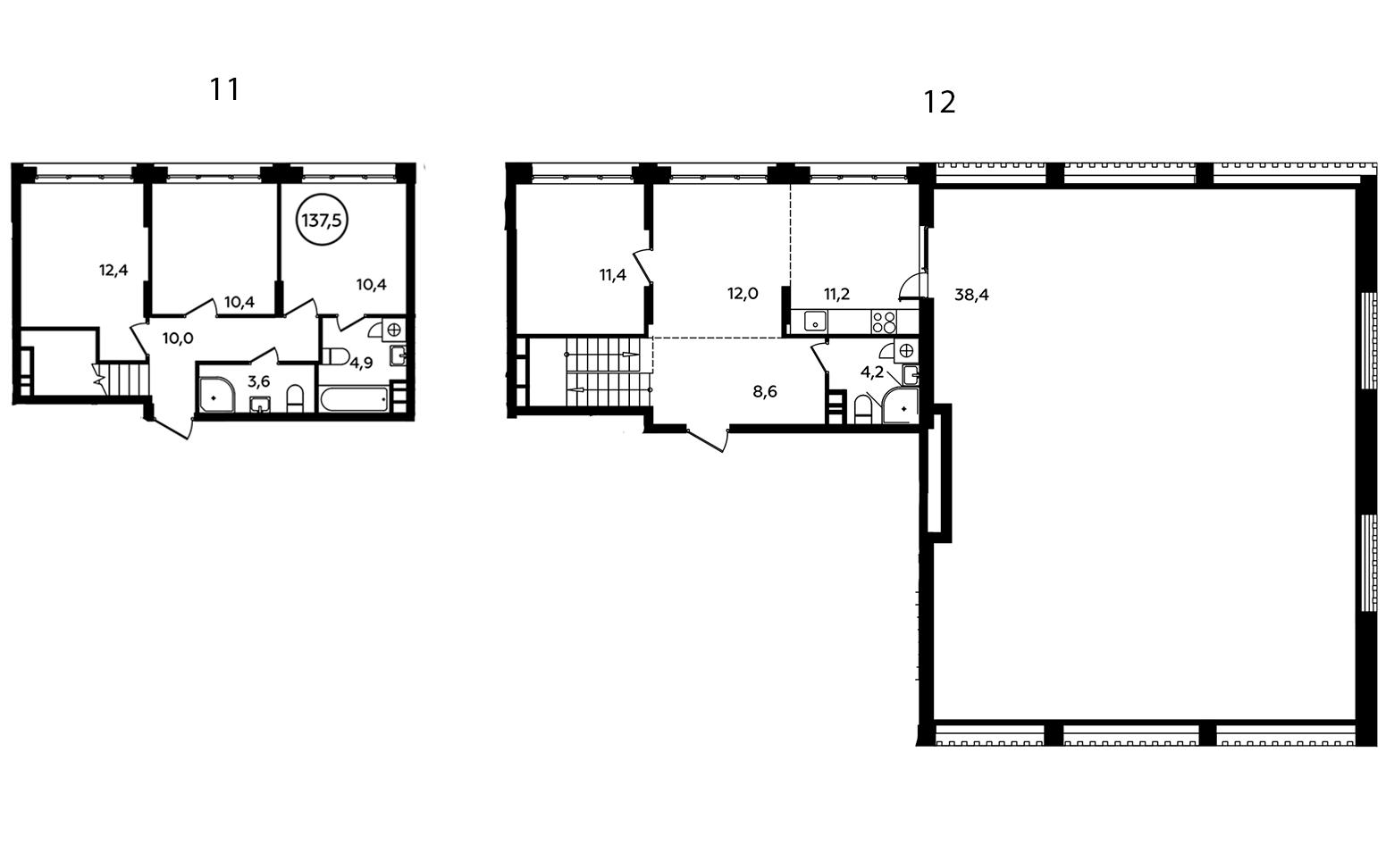 5Е-к.кв, 137.5 м²