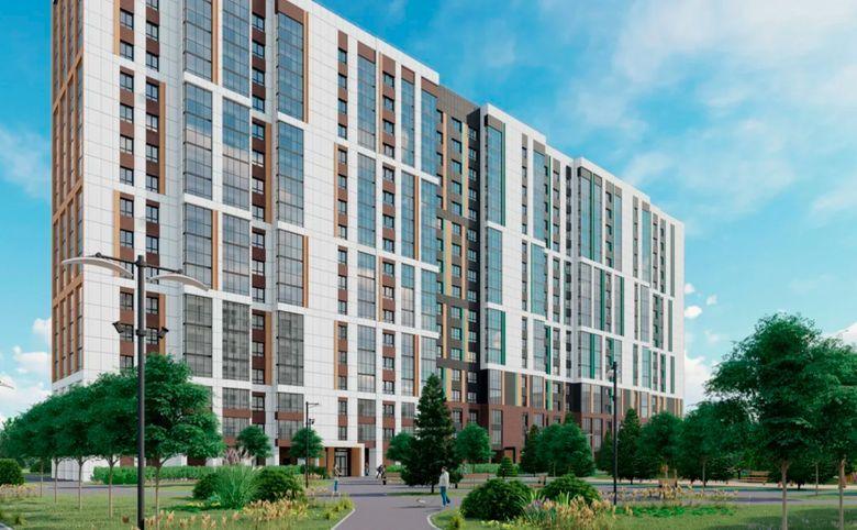 2Е-комнатная квартира, 40.2 м², 11 этаж – 4