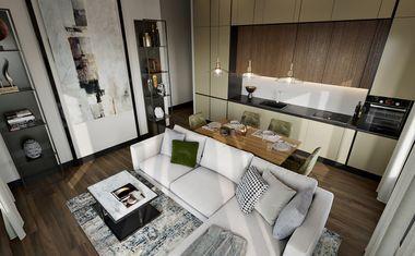 2Е-комнатная, 44.23 м²– 6