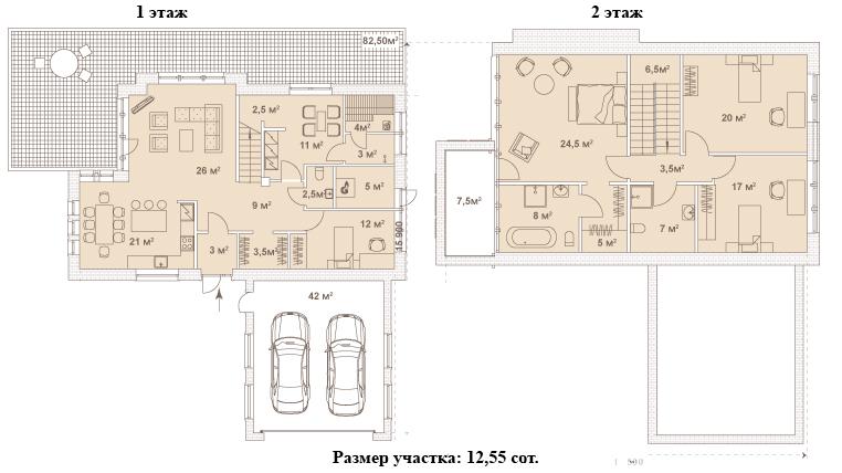 Коттедж, 195.1 м²– 2