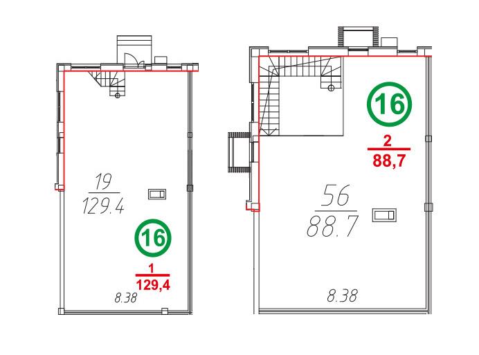 Свободная планировка, 218.46 м²– 2