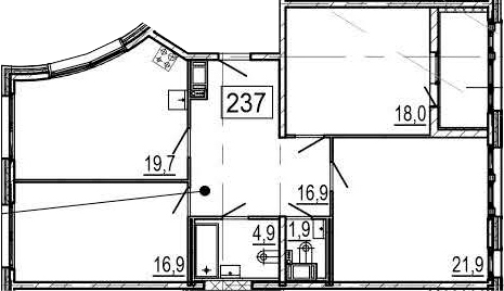 4Е-к.кв, 102.9 м², 4 этаж