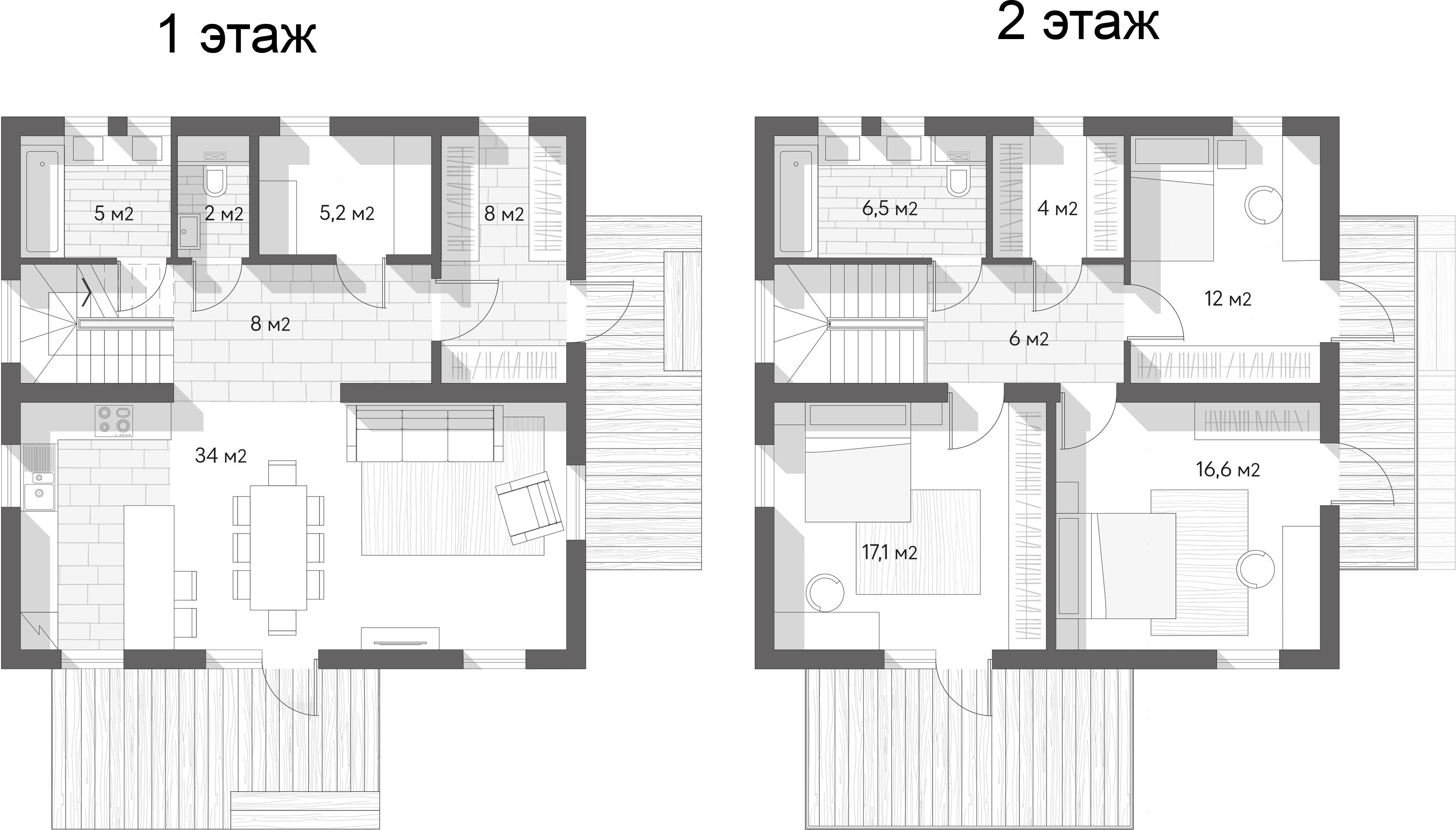 Коттедж, 130 м²– 2