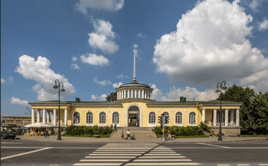 Ж/д станция Павловск