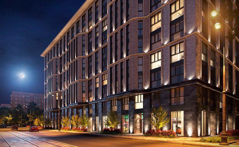2Е-комнатная квартира, 56.6 м², 7 этаж – 3