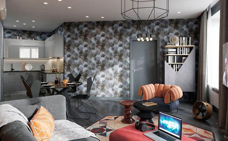 2-комнатная квартира, 61.07 м², 14 этаж – 2